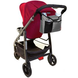 Dreambaby Strollerbuddy On-The-Go Bag - Grey