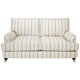 Argos Home Abberton 2 Seater Fabric Sofa - Natural Stripe