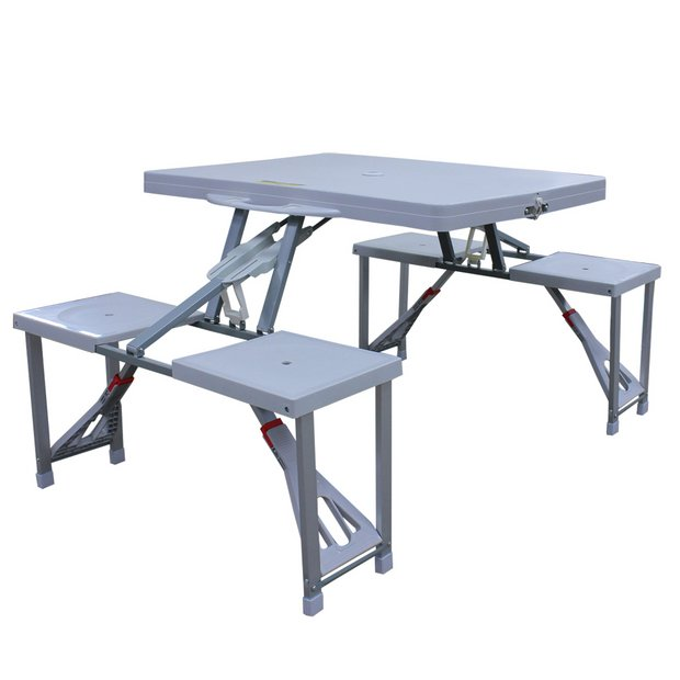 Phenomenal Buy Folding Picnic Table And Stools Camping Tables Argos Pdpeps Interior Chair Design Pdpepsorg