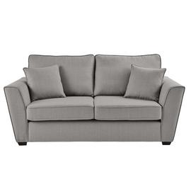 Argos Home Renley 2 Seater Fabric Sofa - Light Grey