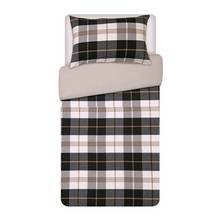 Heart of House Chester Woven Check Bedding Set - Single