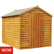 Mercia Overlap Windowless Shed - 8 x 6ft