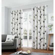Fusion Kiera Eyelet Curtains