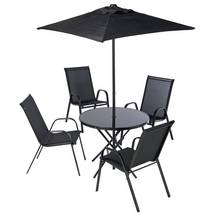 HOME Sicily 4 Seater Metal Patio Set