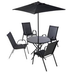 Argos Home Sicily 4 Seater Metal Patio Set