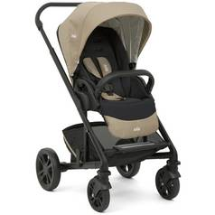 Joie Chrome Scenic Stroller & Carrycot - Sandstone