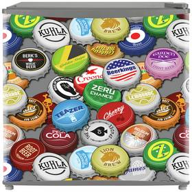 Kuhla KTTLF1002 Bottle Top Design Mini Fridge