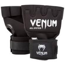 Venum Kontact Gel Glove Wraps - Black