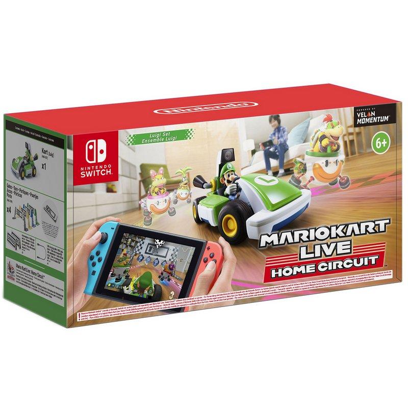 Mario Kart Live Home Circuit Luigi Edition Switch Game from Argos