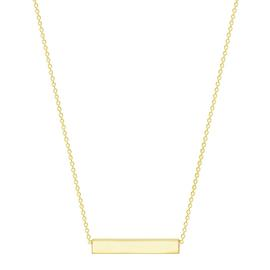 Results for gold bar necklace