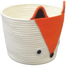 Argos Home Rope Fox Storage Basket