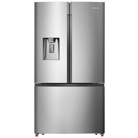 Hisense RF750N4ISF American Fridge Freezer - Stainless Steel