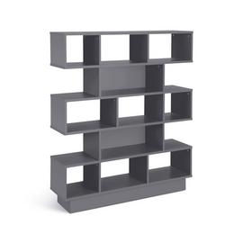 Argos Home Cubes 5 Tier Wide Bookcase