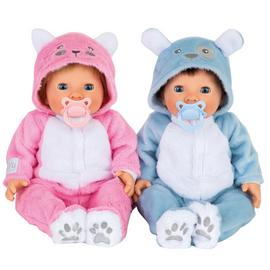 Tiny Treasures Twin Bumper Set - Puppy and Kitten