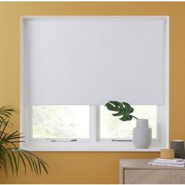 Argos Home Blackout Insulating Roller Blind - White