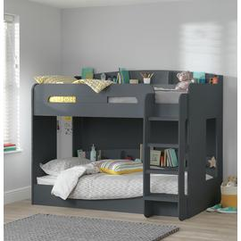 Argos Home Ultimate Bunk Bed With Mattresses - Grey