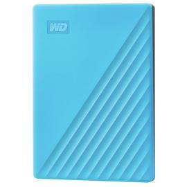 WD Passport 2TB Portable Hard Drive - Blue