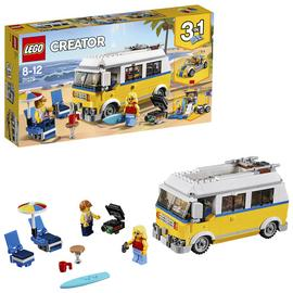 LEGO CREATOR Sunshine Surfer Van Construction Toy - 31079