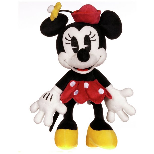 e8573c62a35 Buy Disney 90th Anniversary Minnie Mouse Soft Toy - 10 Inch