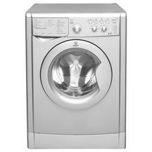 Indesit IWDC 6125 S Washer Dryer - Silver