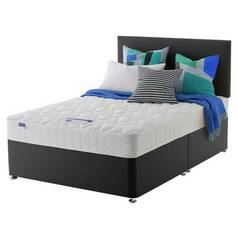 Silentnight Travis Microquilt Divan Bed - Double