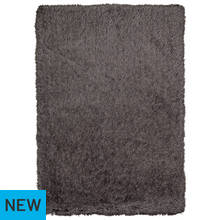 Heart of House Bliss Rug - 170x110cm - Charcoal