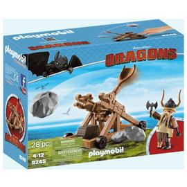 DreamWorks Dragons© 9461 Gobber with Sling by Playmobil