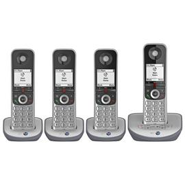 BT Advanced Z Cordless Telephone & Answer Machine - Quad