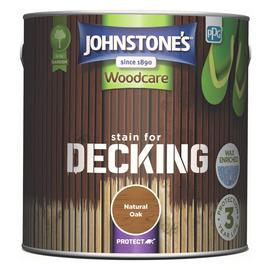 Johnstone's Decking Stain 2.5 - Natural Oak