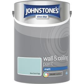 Johnstone's Wall & Ceiling Paint Matt 5L - New Duck Egg