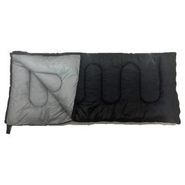 ProAction Envelope 500GSM Sleeping Bag - Black