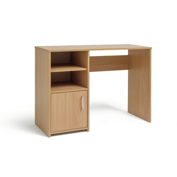 Marvelous Buy Argos Home Lawson Office Desk Oak Effect Desks Argos Home Interior And Landscaping Transignezvosmurscom
