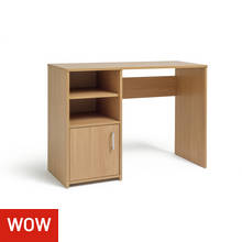 Lawson Office Desk - Oak Effect