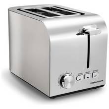 Morphy Richards 222055 Equip 2 Slice Toaster - Brushed Steel