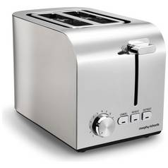Morphy Richards 222055 Equip 2 Slice Toaster - Brushed Steel