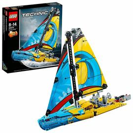 LEGO Technic Racing Yacht Catamaran Model Set - 42074