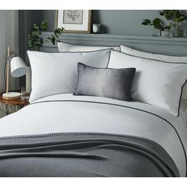Serene Pom Pom Grey Bedding Set - Kingsize