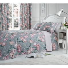 Dreams N Drapes Tulip Blush Bedding Set - Kingsize