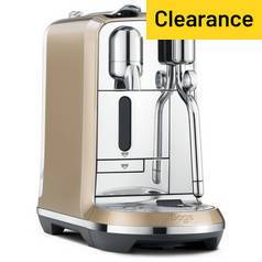 Sage Nespresso Creatista Royal Champagne Coffee Machine