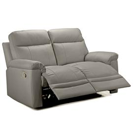 Argos Home Paolo 2 Seater Manual Recliner Sofa - Grey