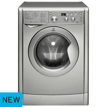 Indesit IWDD7143 S Washer Dryer - Silver
