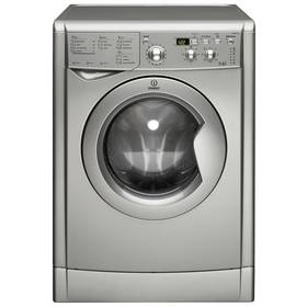 Indesit IWDD7143 S 7KG / 5KG 1400 Spin Washer Dryer - Silver