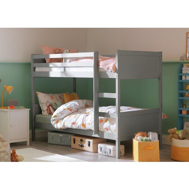 Buy Argos Home Detachable Bunk Bed Frame Grey Kids Beds Argos