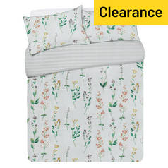 Argos Home May Floral Bedding Set - Double