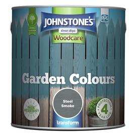 Johnstone's Garden Colours Paint 2.5L - Steel Smoke