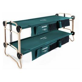 Disc-O-Bed Mobile Bunk Bed With Organisers - Large
