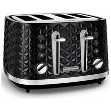 Morphy Richards 248131 Vector 4 Slice Toaster - Black