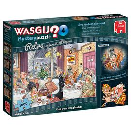 Wasgij Retro Mystery 4 Entertainment Puzzle