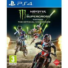 Monster Energy Supercross PS4 Game