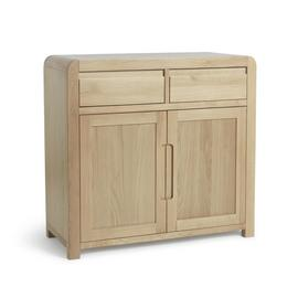 Argos Home Novara 2 Door 2 Drawer Sideboard - Oak Veneer